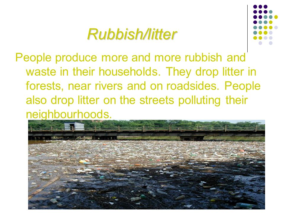 Rubbish/litter
