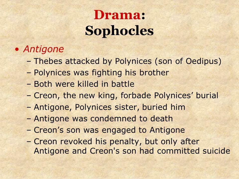 Drama: Sophocles Antigone