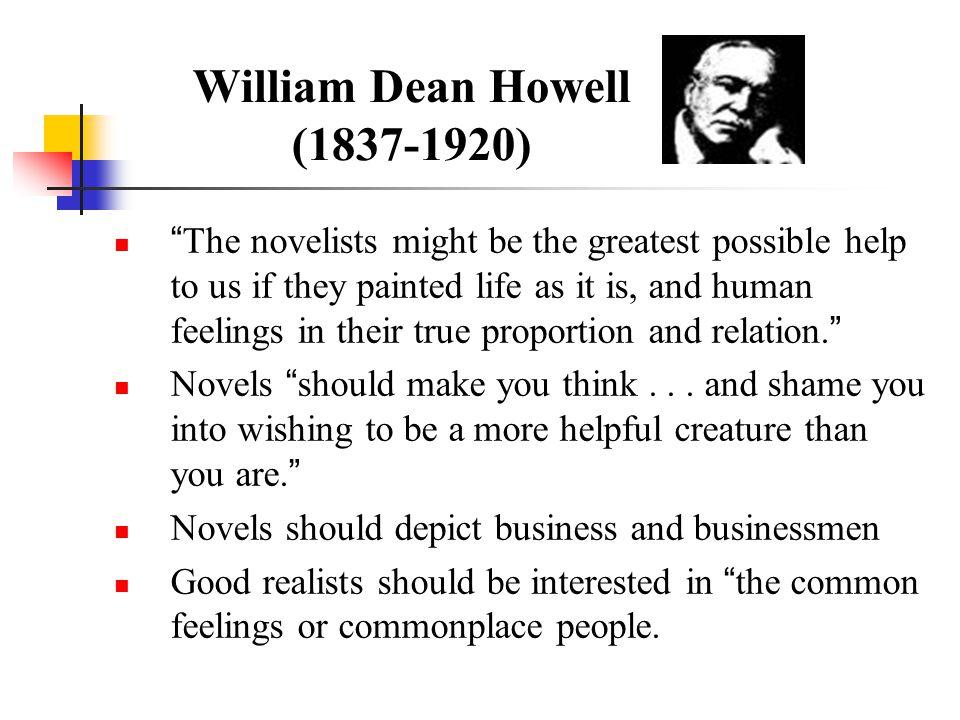 William Dean Howell (1837-1920)