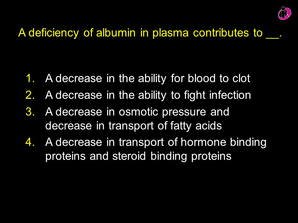A deficiency of albumin in plasma contributes to __.