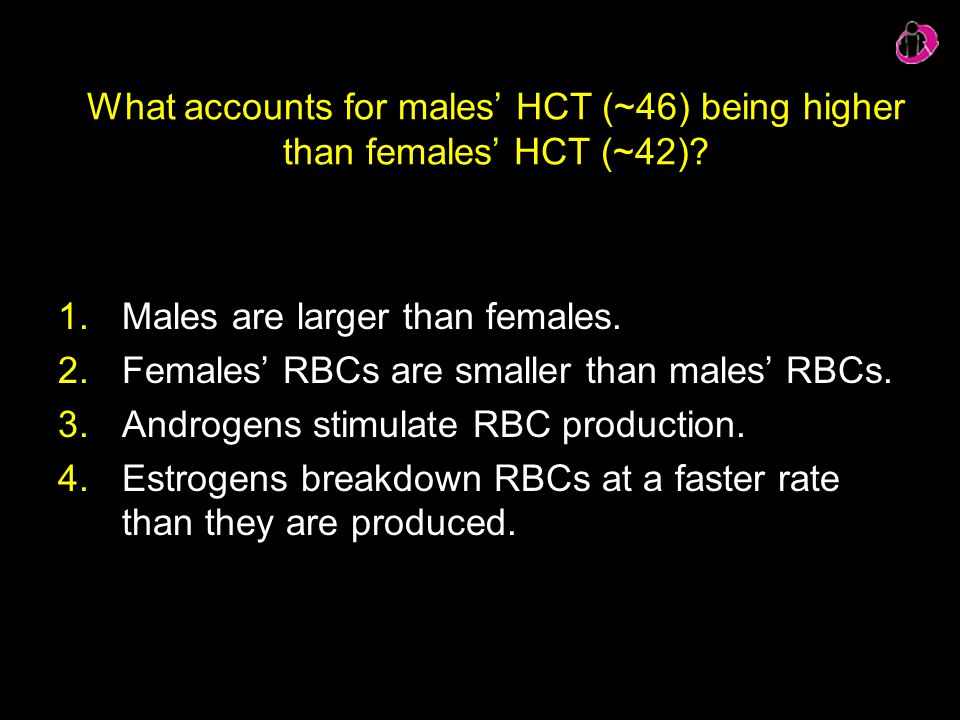Males are larger than females.