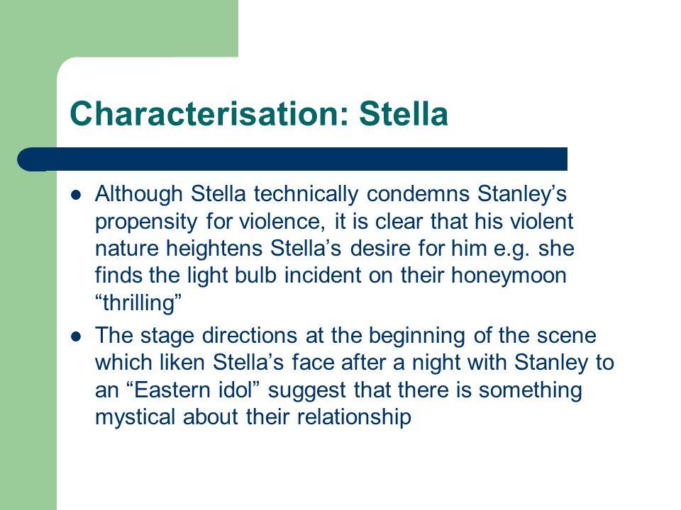 Characterisation: Stella