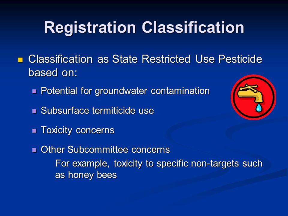 Registration Classification