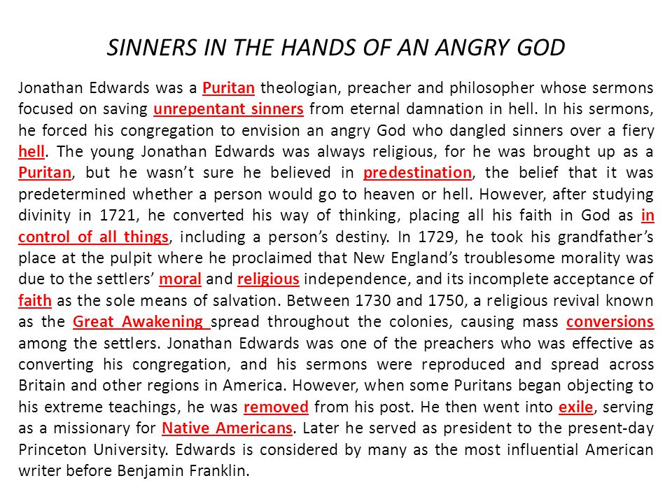 sinners essay Essay on nathaniel hawthorne's scarlet letter - rev arthur dimmesdale is the greatest sinner - arthur dimmesdale is the greatest sinner in the scarlet letter it is strange how often other peoples' sins seem so much worse in comparison to our own.