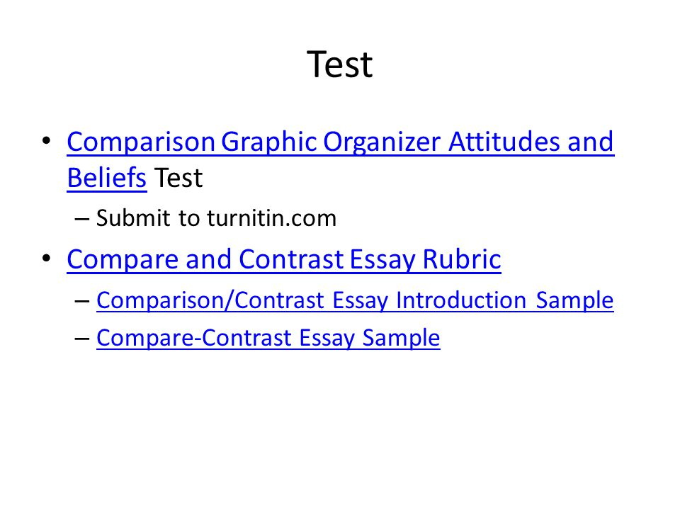bradstreet and edwards ppt   introduction sample compare contrast essay sample test comparison graphic organizer attitudes and beliefs test