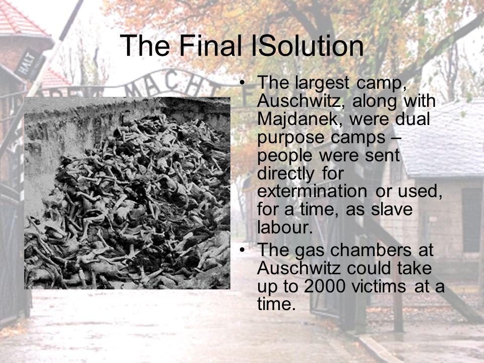The Final lSolution