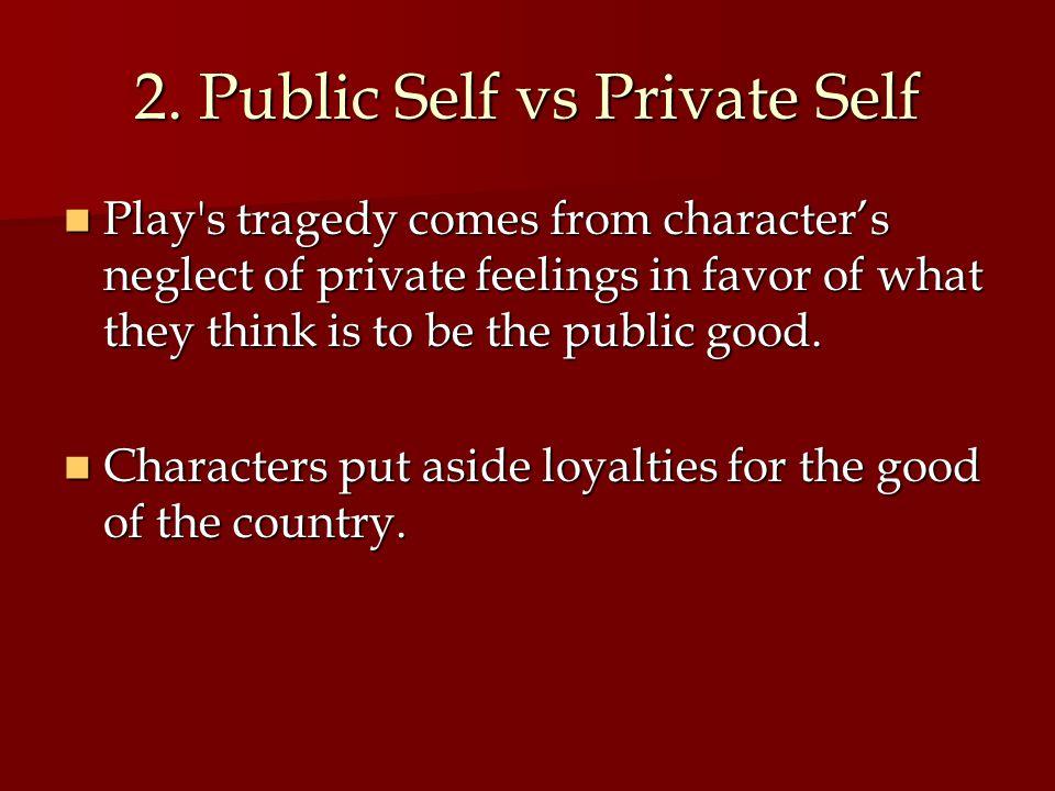 2. Public Self vs Private Self