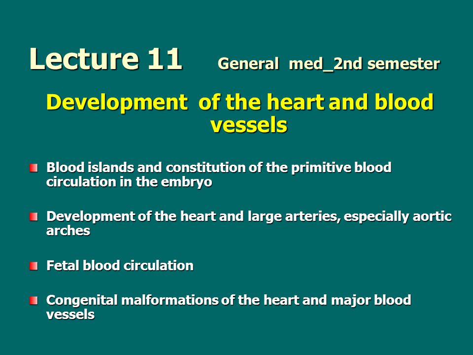 Lecture 11 General med_2nd semester