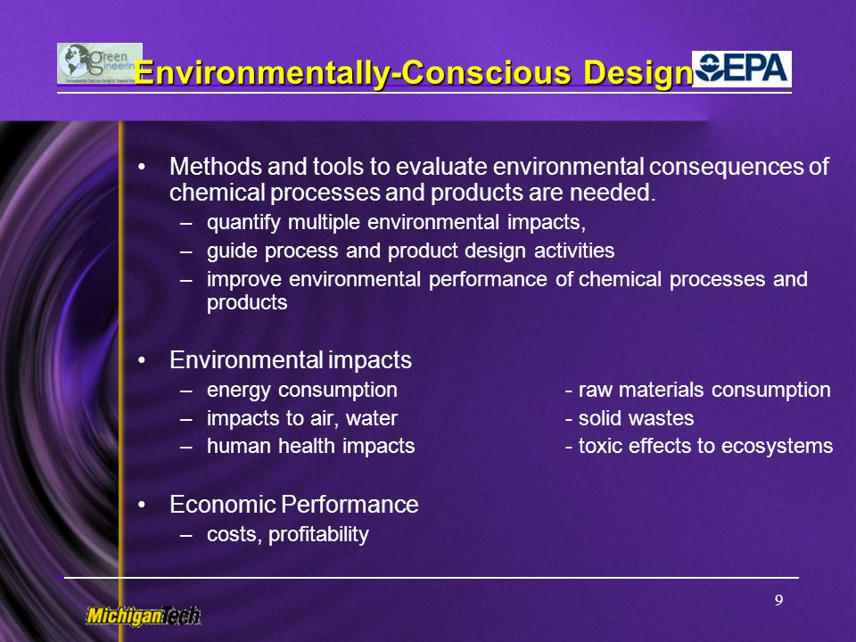 Environmentally-Conscious Design