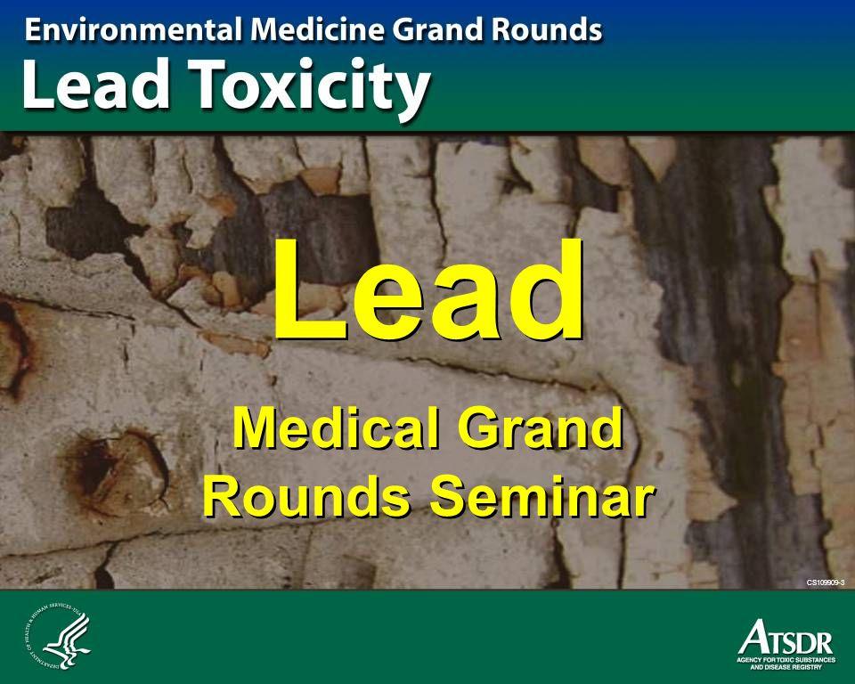 Medical Grand Rounds Seminar