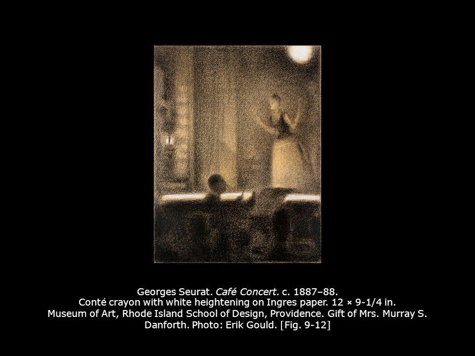 Georges Seurat. Café Concert. c. 1887–88