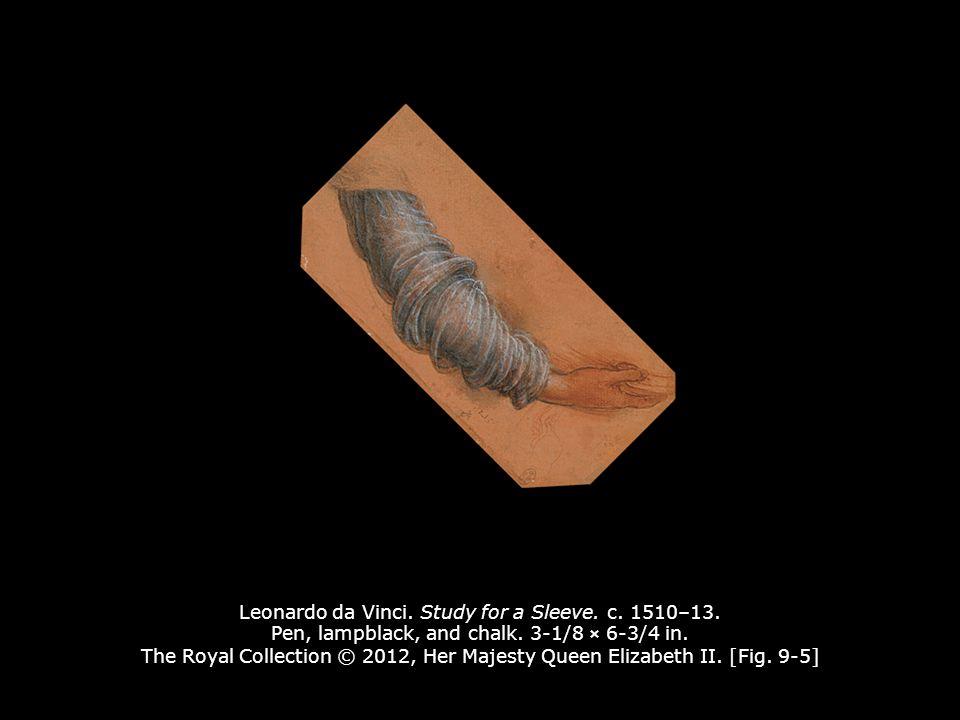 Leonardo da Vinci. Study for a Sleeve. c. 1510–13