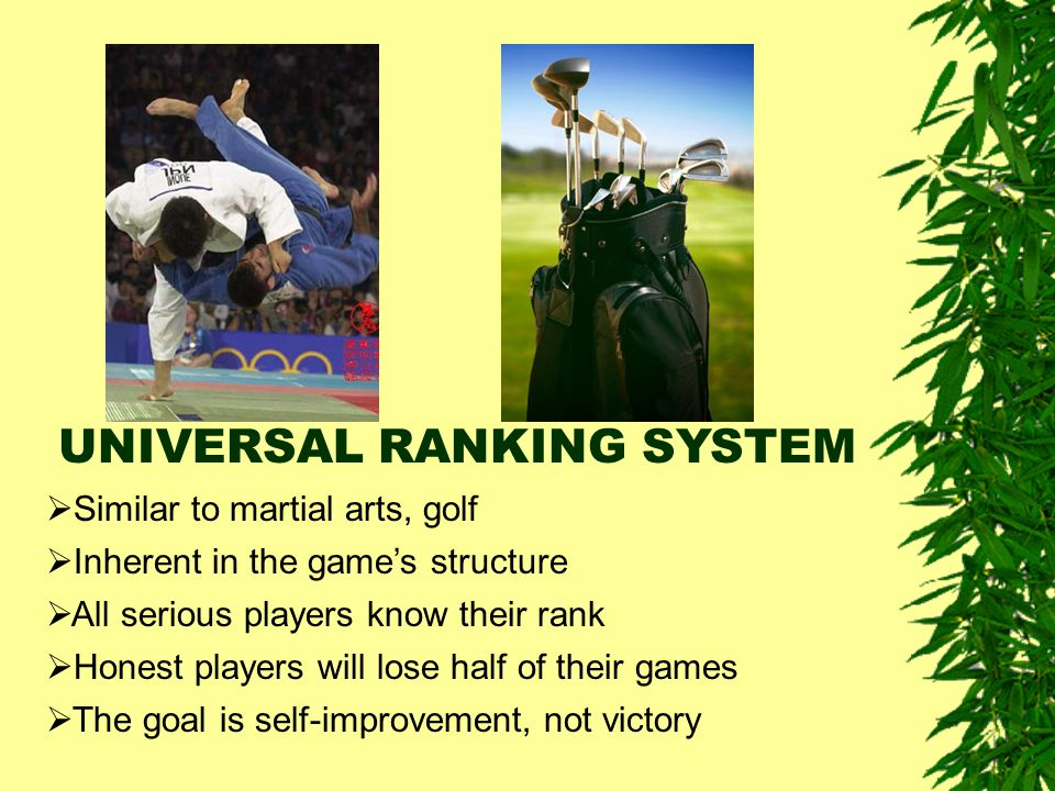 UNIVERSAL RANKING SYSTEM