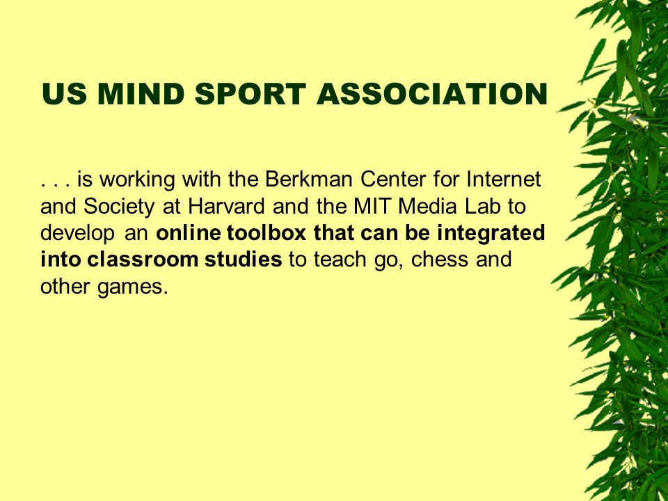 US MIND SPORT ASSOCIATION