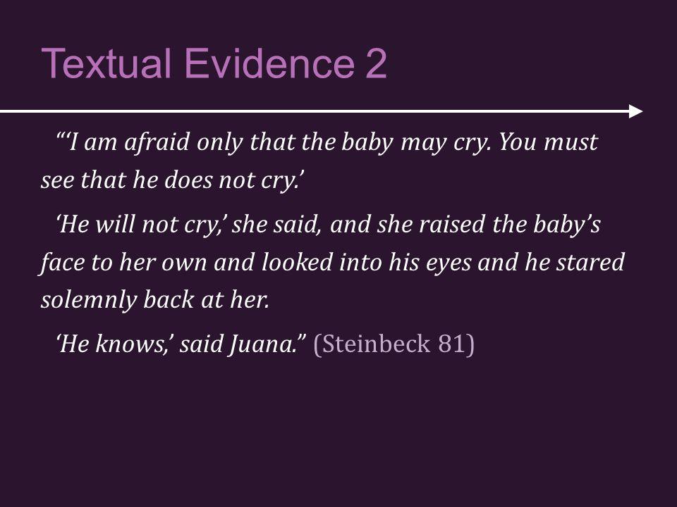 Textual Evidence 2