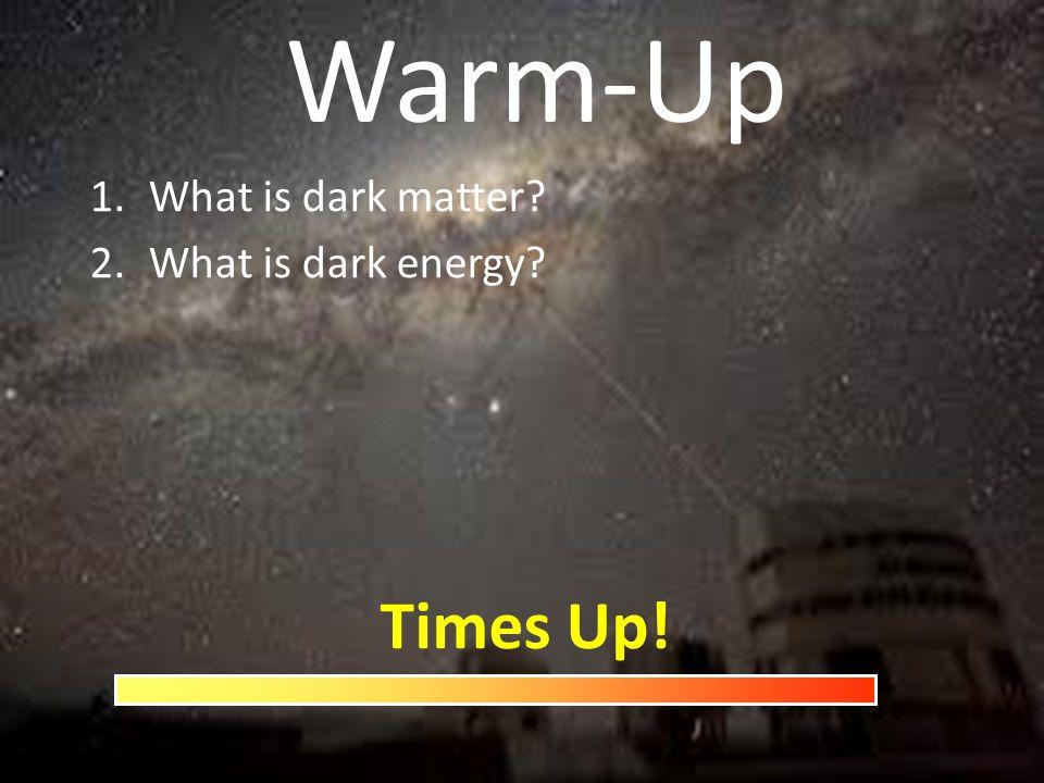 What is dark matter What is dark energy