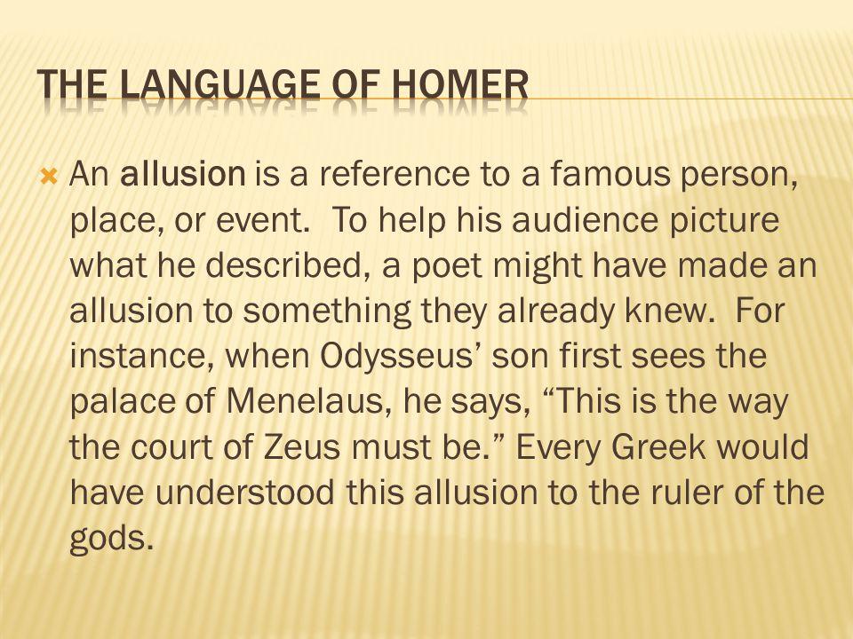 The Language of Homer