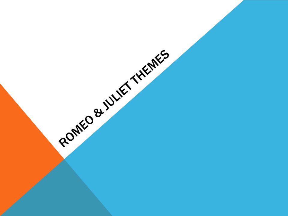 Romeo & Juliet Themes