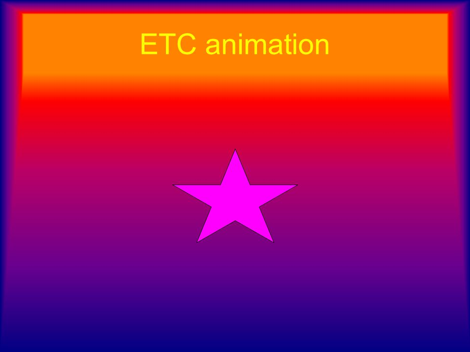 ETC animation