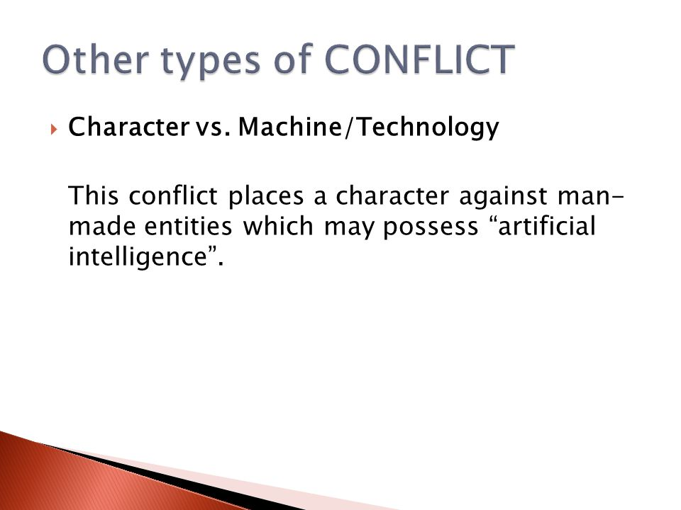 Other types of CONFLICT
