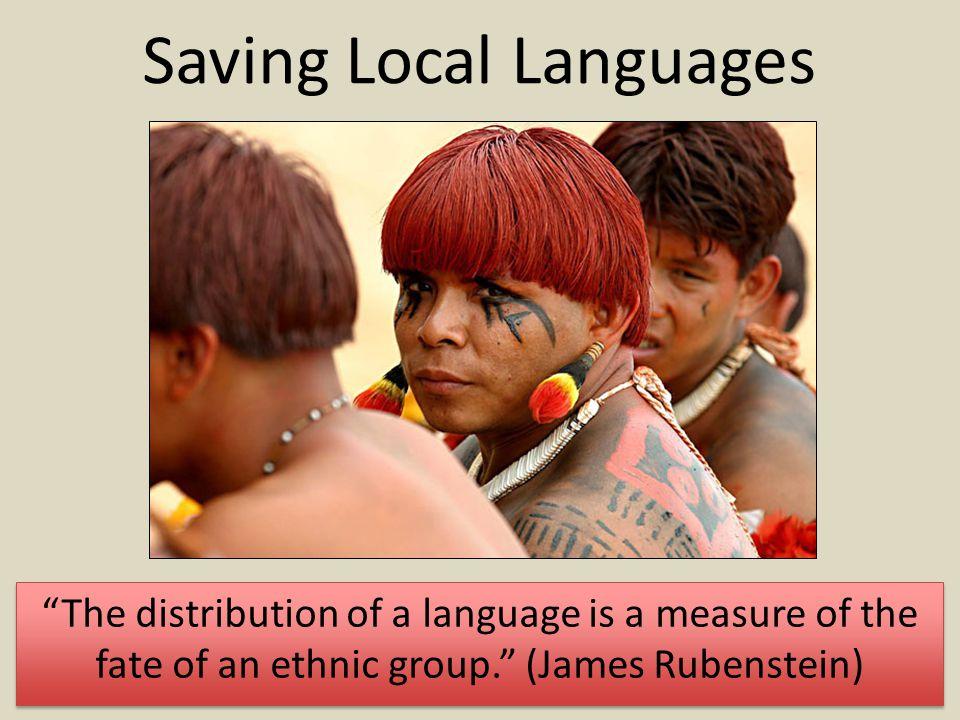 Saving Local Languages