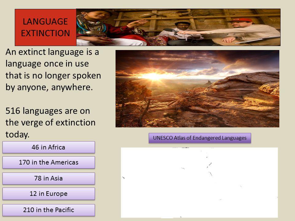 UNESCO Atlas of Endangered Languages