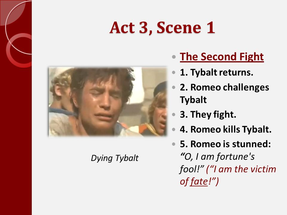Act 3, Scene 1 The Second Fight 1. Tybalt returns.