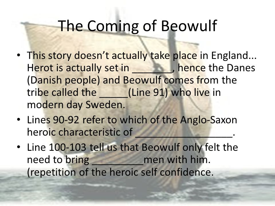 beowulf and modern day hero Get an answer for 'modern day heroesi am just about to start teaching a small unit on epic literature with my grade 12s part of this is the discussion of epic heroes.