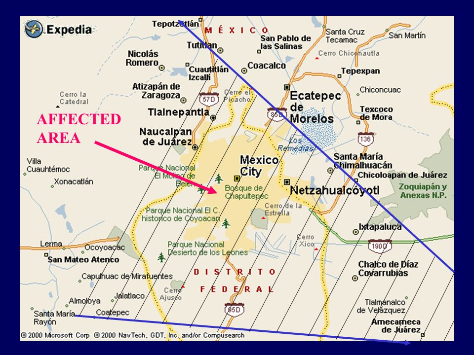 AFFECTED AREA