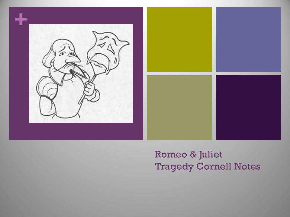 Romeo & Juliet Tragedy Cornell Notes