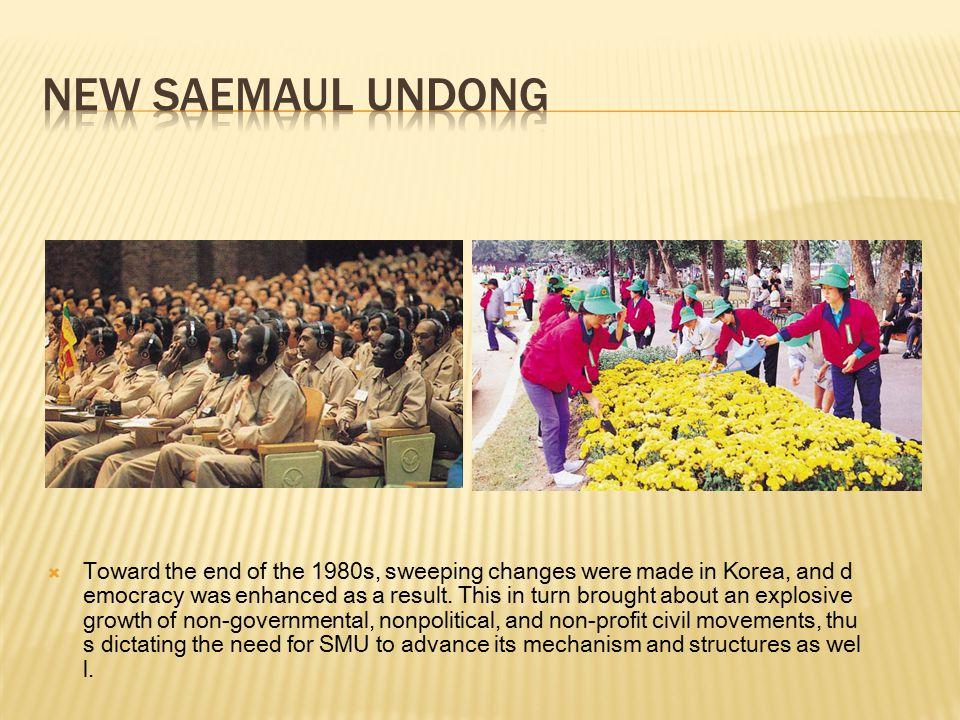 New Saemaul Undong