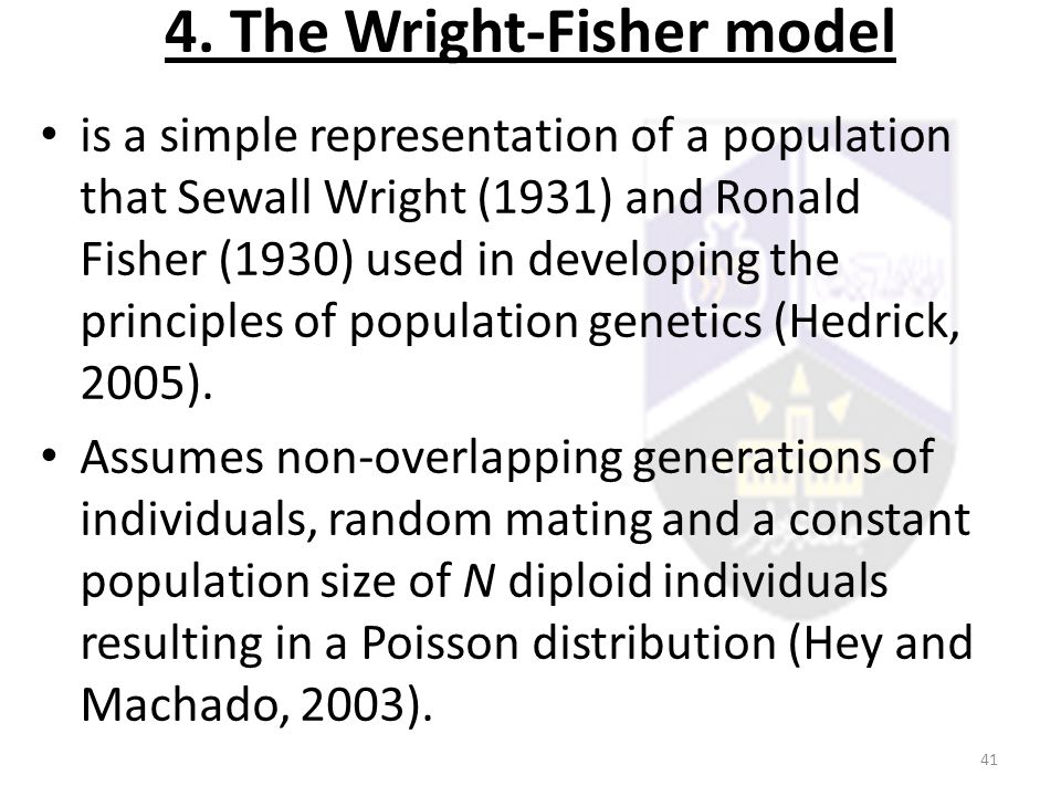 4. The Wright-Fisher model