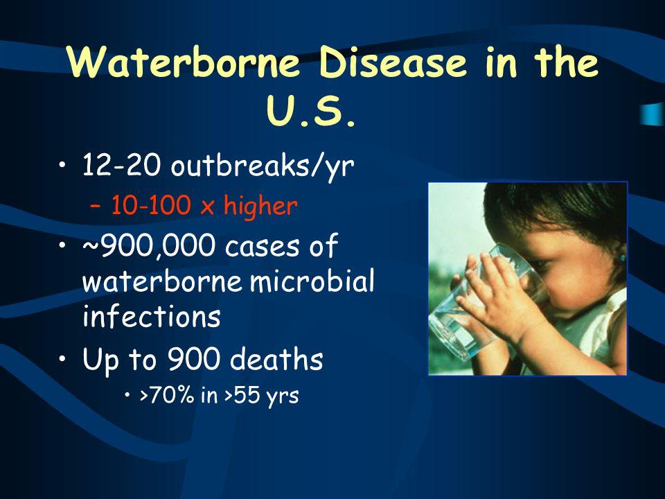Waterborne Disease in the U.S.
