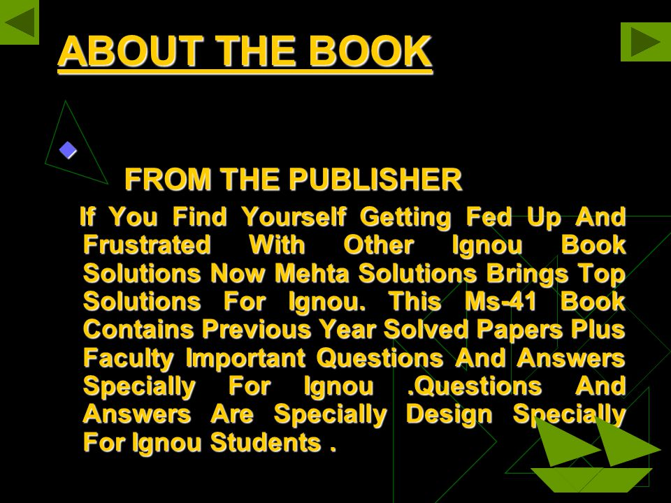 ABOUT THE BOOK FROM THE PUBLISHER