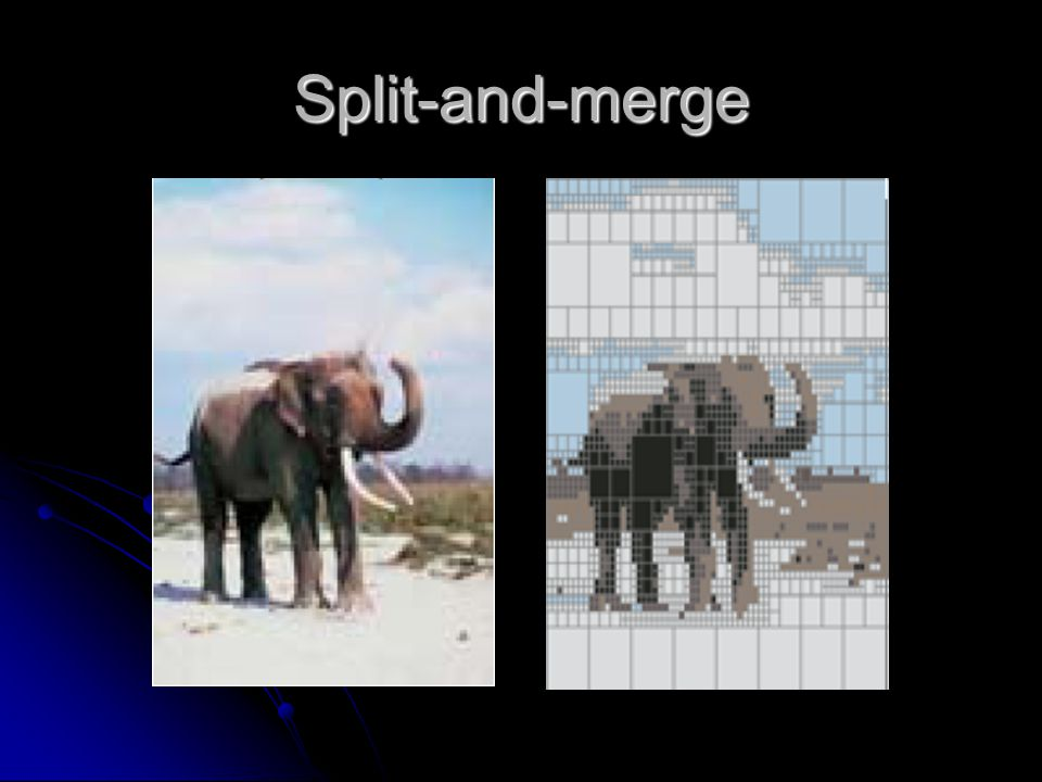 Split-and-merge