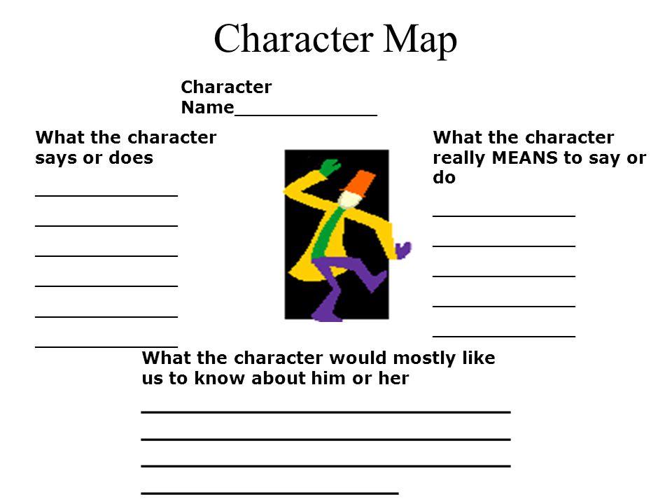 Character Map Character Name____________