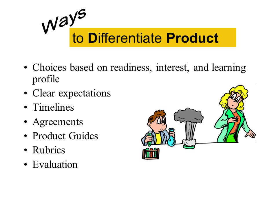 to Differentiate Product