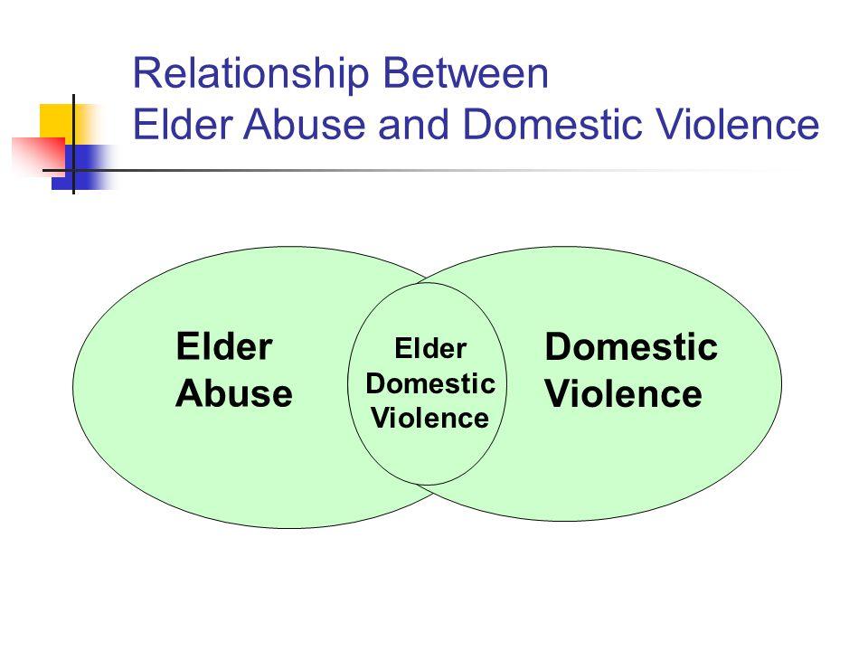 Elder Domestic Violence