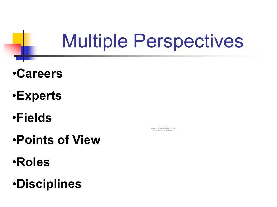 Multiple Perspectives