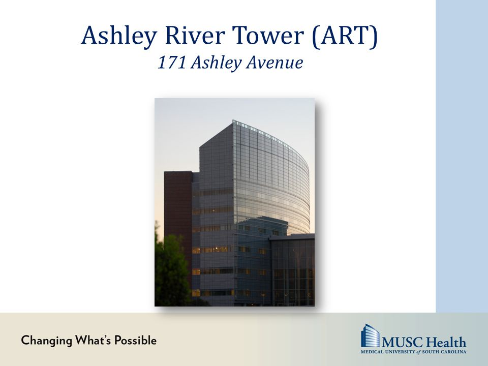 Ashley River Tower (ART) 171 Ashley Avenue