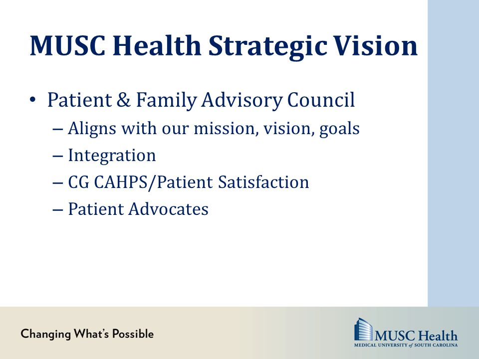 MUSC Health Strategic Vision