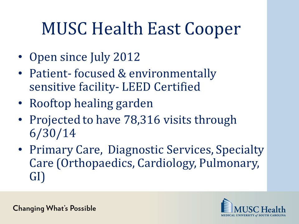 MUSC Health East Cooper