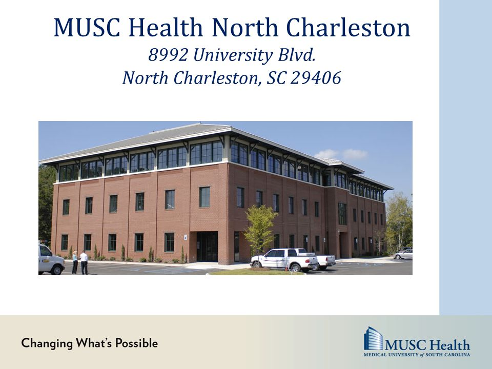 MUSC Health North Charleston 8992 University Blvd