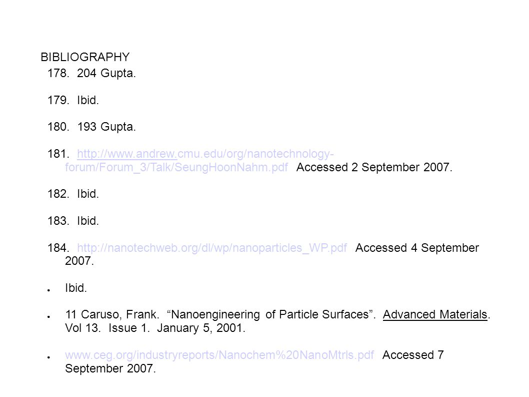 BIBLIOGRAPHY 178. 204 Gupta. 179. Ibid. 180. 193 Gupta.