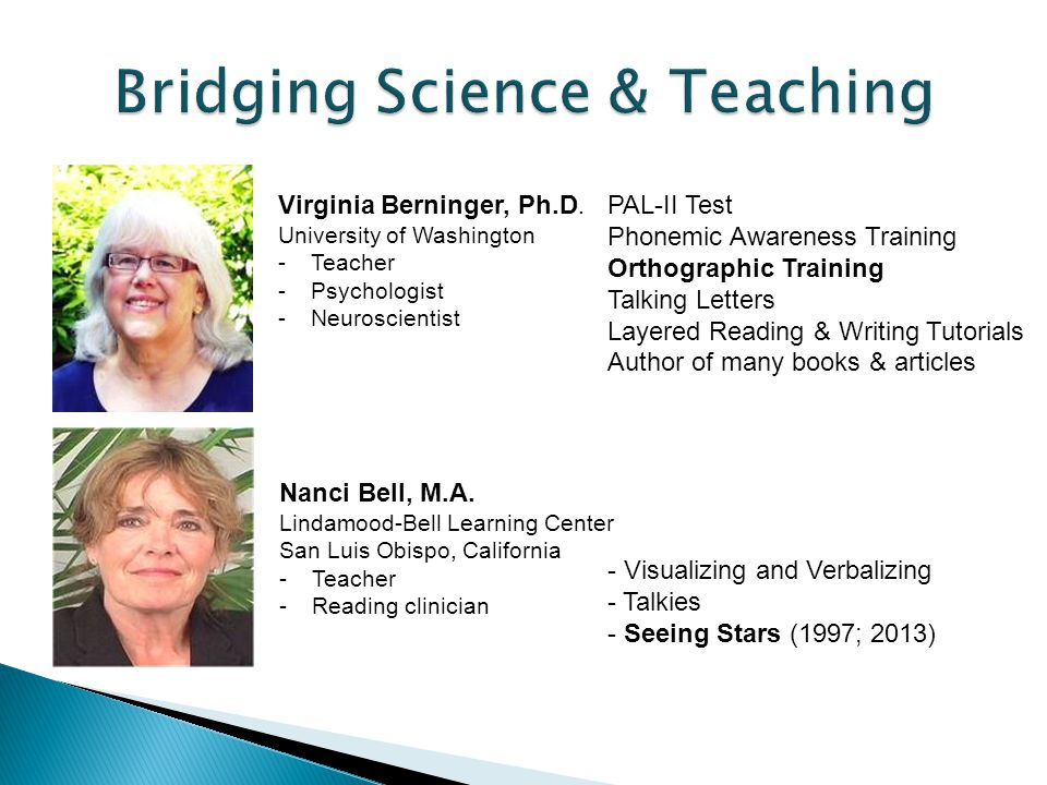 Bridging Science & Teaching