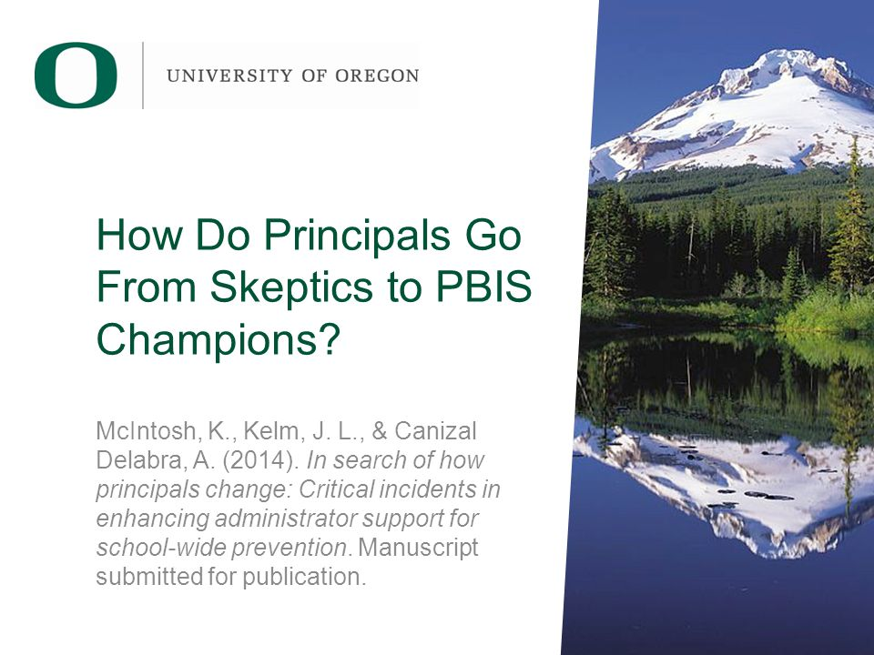 How Do Principals Go From Skeptics to PBIS Champions