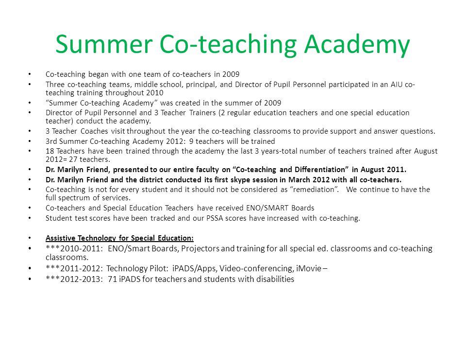 Summer Co-teaching Academy