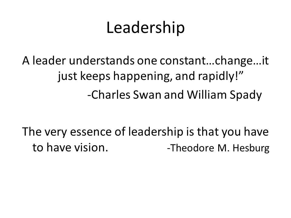 -Charles Swan and William Spady
