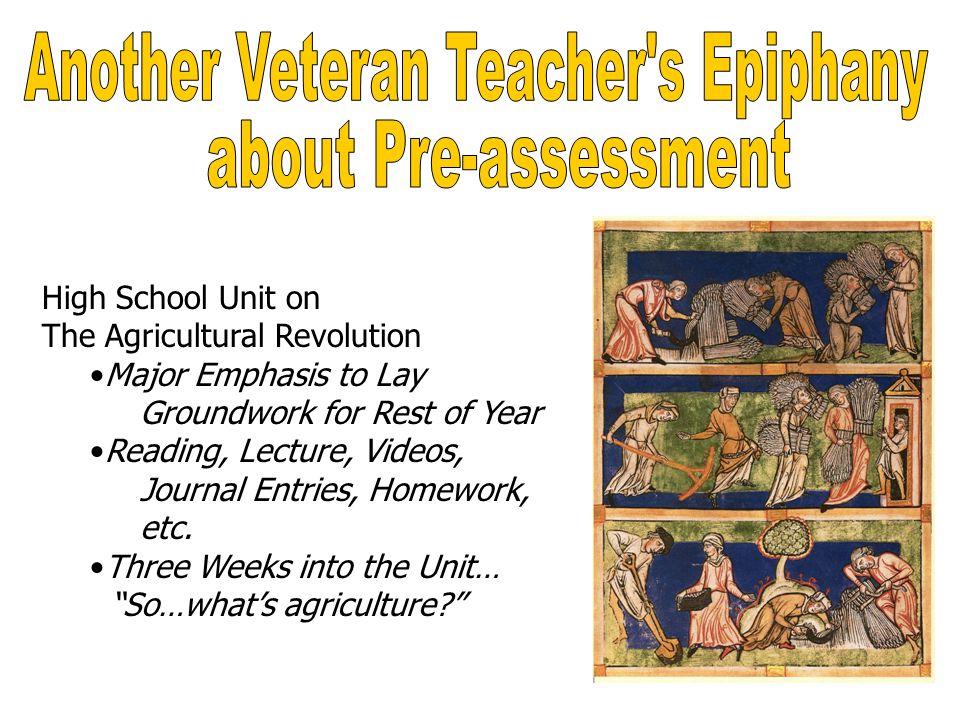 Another Veteran Teacher s Epiphany