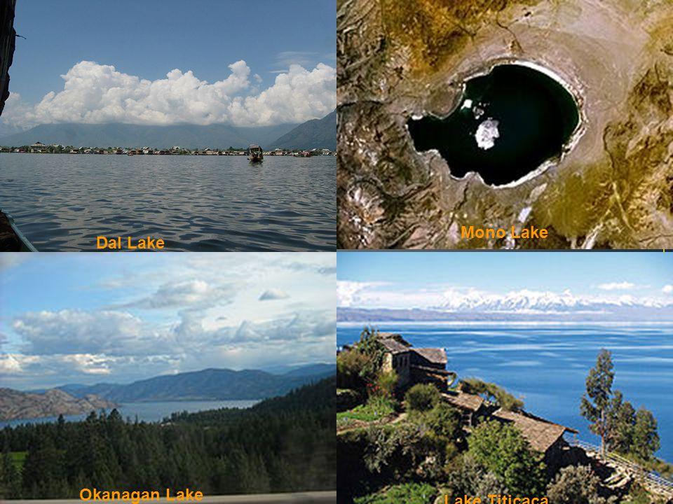Mono Lake Dal Lake Okanagan Lake Lake Titicaca